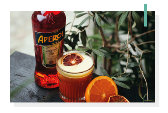 Grzany aperol - alkohole mocne. Photo by Nat Kontraktewicz - https://kontraktewicz.com/